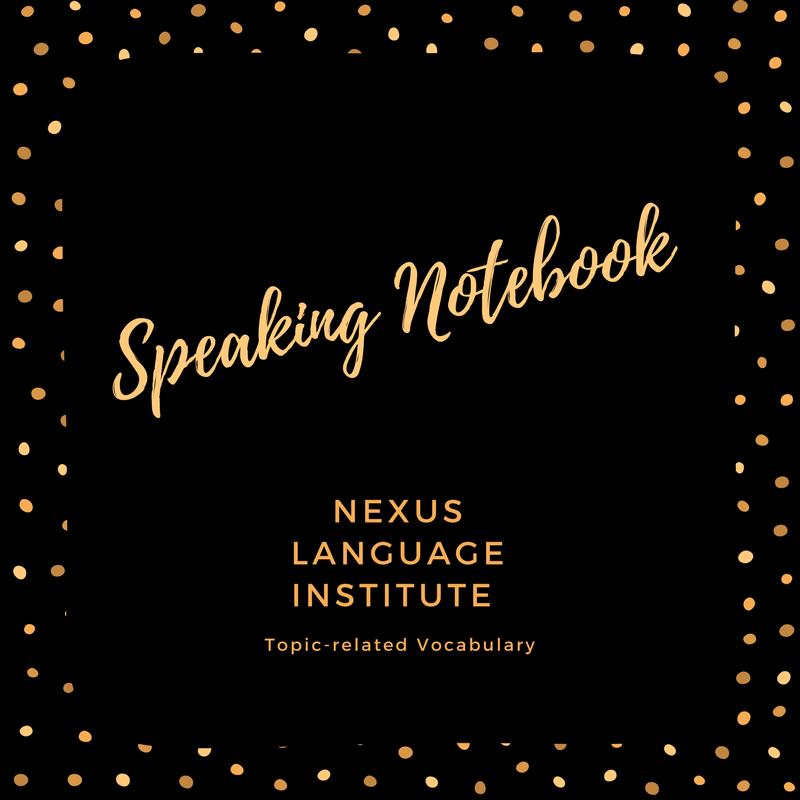 Speaking Notebook